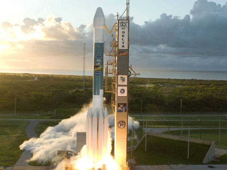 ICESat-2 will launch on a Delta II rocket, made by United Launch Alliance. (NASA)